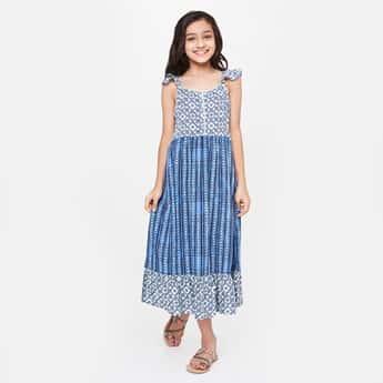 GLOBAL DESI Printed Sleeveless Dress