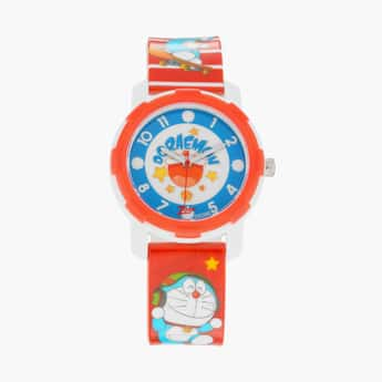 ZOOP Kids Doraemon Print Water-Resistant Analog Watch - 26015PP03F