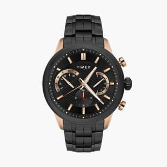 TIMEX Men Chronograph Watch with Metal Strap - TWEG18601
