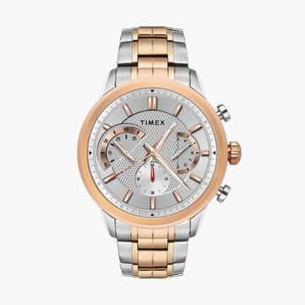 TIMEX Men Chronograph Watch with Metal Strap - TWEG18602