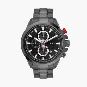 TIMEX Men Chronograph Watch with Metal Strap - TWEG19301