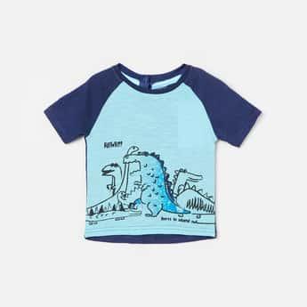 JUNIORS Boys Graphic Print Short Sleeves T-shirt