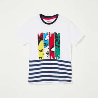 FAME FOREVER KIDS Graphic Print Crew Neck T-shirt