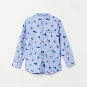 LEE COOPER JUNIORS Printed Casual Shirt