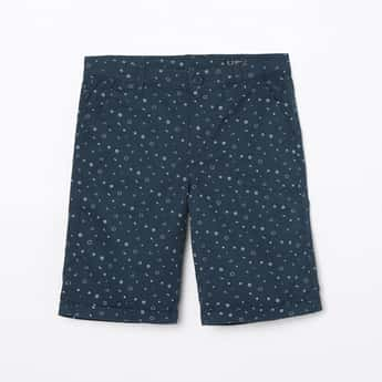 ALLEN SOLLY Printed City Shorts
