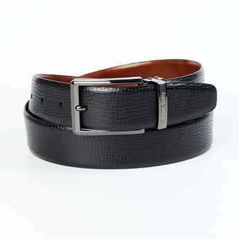 ALLEN SOLLY Men Solid Casual Belt
