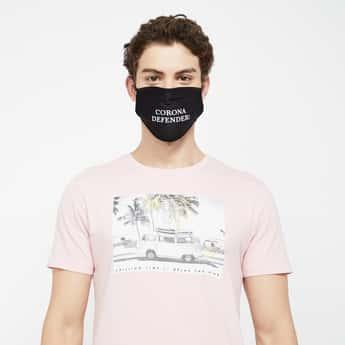 FAME FOREVER Men Printed Reusable Mask