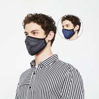 FAME FOREVER Men Reusable Masks - Pack of 2