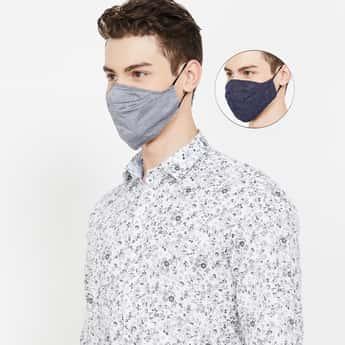 CODE Men Reusable Masks - Pack of 2 Pcs.
