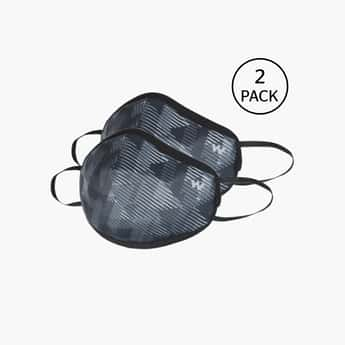 WILDCRAFT Unisex Printed SM-Face Mask- Pack of 2