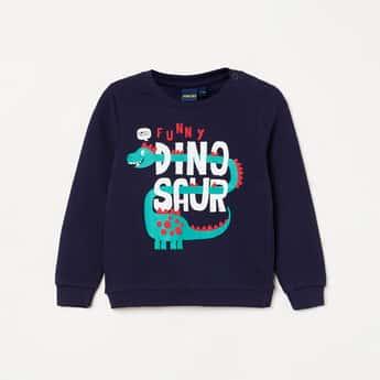 JUNIORS Boys Graphic Print Sweatshirt