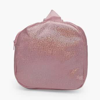 STOLN Girls Glitter Zip-Closure Backpack