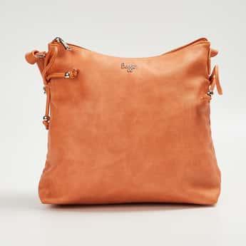 BAGGIT Women Textured Sling Bag