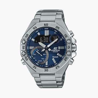 CASIO Edifice Men Bluetooth-Connected Analog-Digital Watch - ECB-10D-2ADF-(ED492)