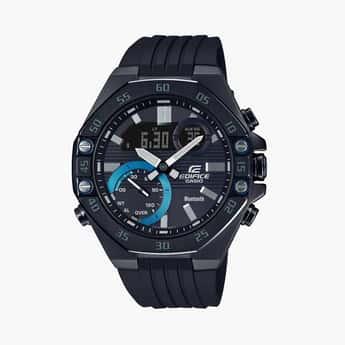 CASIO Edifice Men Bluetooth-Connected Analog-Digital Watch - ECB-10PB-1ADF-(ED496)