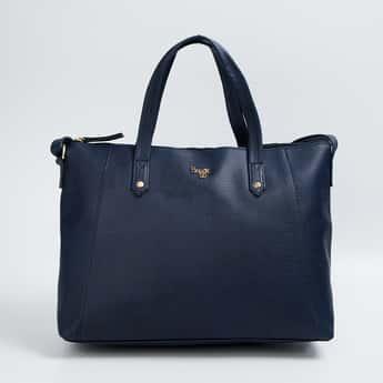 BAGGIT Women Reptilian Pattern Handbag with Shoulder Strap