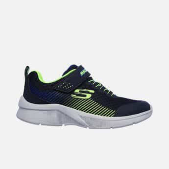 SKECHERS Boys Printed Lace-Up Sports Shoes