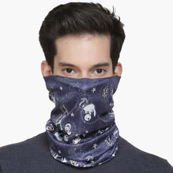FREE AUTHORITY Men Printed Bandana Face Mask