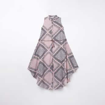 PEPPERMINT Girls Printed Short Length Jumpsuit