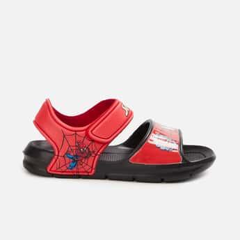 FAME FOREVER Boys Printed Velcro-Strap Sandals