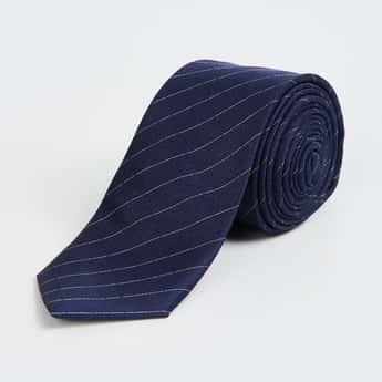 CODE Men Striped Formal Tie