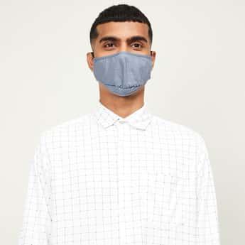 CODE Men Solid Face Mask