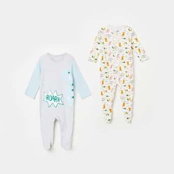 FS MINI KLUB Printed Sleepsuits - Pack of 2