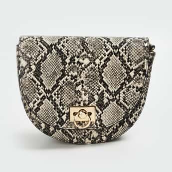 CODE Women Animal Print Sling Bag