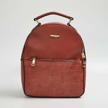CODE Women Textured Backpack