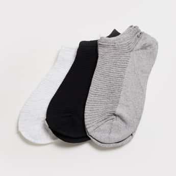 GINGER Women Ankle-Length Socks- Set of 3