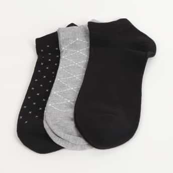 CODE Men Printed Socks - Pack of 3