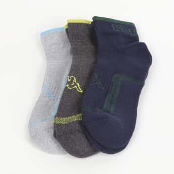 KAPPA Men Textured Socks - Pack of 3