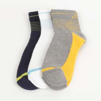 KAPPA Men Colorblocked Socks - Pack of 3