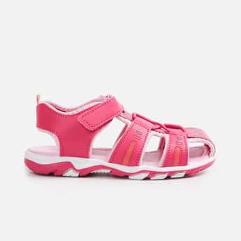 FAME FOREVER Girls Printed Sandals