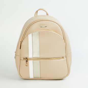 GINGER Women Colourbloked Backpack