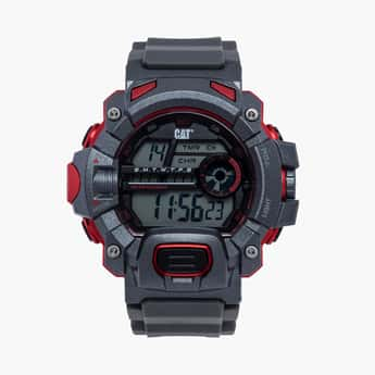 CAT Digital Chronograph Round Dial Men's Watch - 1A15725241