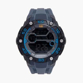 CAT Digital Chronograph Round Dial Men's Watch - 1D16726241