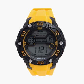 CAT Digital Chronograph Round Dial Men's Watch - 1D.167.27.241