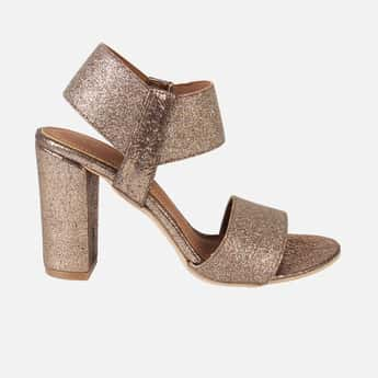 CATWALK Women Shimmery Block Heels