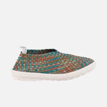 CATWALK Women Woven Slip-On Shoes