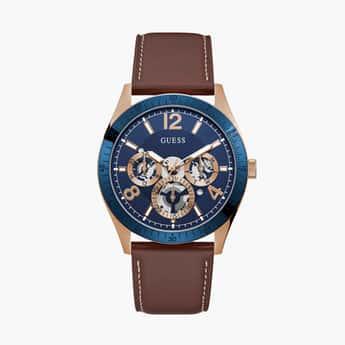 GUESS Men Solid Multifunctional Watch- GW0216G1