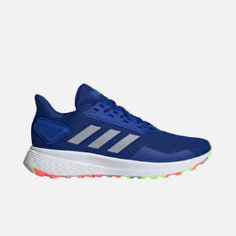 ADIDAS Boys Textured Lace-Up Running Shoes