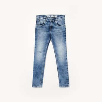PEPE JEANS Boys Heavy Faded Jeans