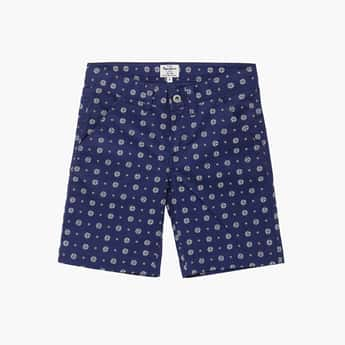 PEPE JEANS Boys Printed Knit Shorts