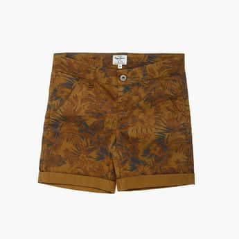 PEPE JEANS Boys Printed Shorts