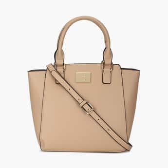 ALLEN SOLLY Women Solid Tote Handbag