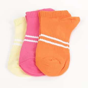 GINGER Women Striped Socks - Pack of 3