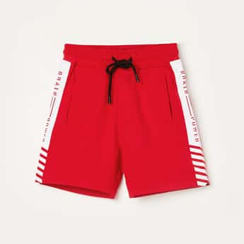 STATUS QUO Boys Printed Elasticated Shorts