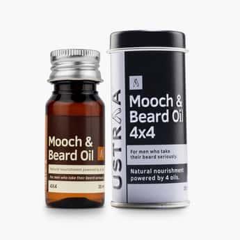 USTRAA Men Mooch and Beard Oil- 35ml