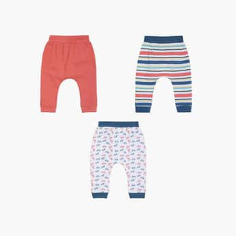 FS MINI KLUB Boys Printed Track Pants- Set of 3 Pcs